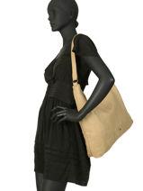 Shoulder Bag Heritage Leather Biba Yellow heritage SEF3L-vue-porte
