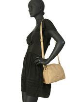 Crossbody Bag Heritage Leather Biba Yellow heritage SEF4L-vue-porte
