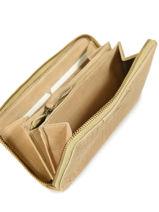 Portefeuille Cuir Biba Jaune accessoires SEF5L-vue-porte
