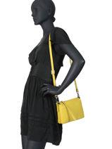 Leather Crossbody Bag Three Gianni chiarini Green three BS4362-vue-porte