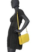 Crossbody Bag Three Leather Gianni chiarini Green three BS4364-vue-porte