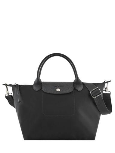 Longchamp Le pliage neo Sacs porté main Noir
