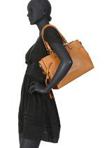Shoulder Bag Couture Miniprix Brown couture DQ8562-1-vue-porte