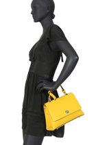 Sac à Main Couture Miniprix Jaune couture M9379-vue-porte