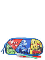 Trousse 2 Compartiments Avengers Multicolore quadri AVNI00-vue-porte