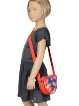 Crossbody Bag Miraculous Red lady bug 319818LB-vue-porte