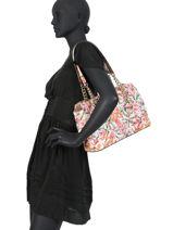 Sac Shopping Queenie Guess Multicolore quennie SF766609-vue-porte
