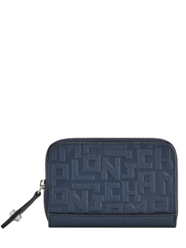 Longchamp La voyageuse lgp Porte-monnaie Bleu