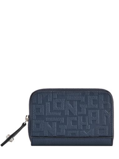 Longchamp La voyageuse lgp Coin purse Blue