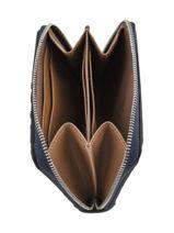 Longchamp La voyageuse lgp Coin purse Blue-vue-porte