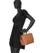 Longchamp Le foulonné Sacs porté main Marron-vue-porte