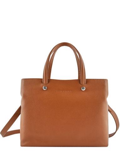 Longchamp Le foulonné Handbag Blue