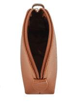 Longchamp Le foulonné Coin purse Brown-vue-porte