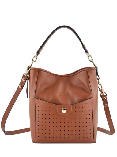 Longchamp Mademoiselle longchamp Hobo bag Brown