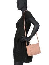 Crossbody Bag Zip Lulu castagnette Pink zip MAELYS-vue-porte