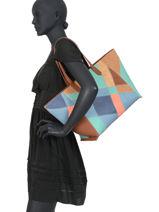 Shoulder Bag A4 Centauri Desigual Brown centauri 20SAXPE1-vue-porte