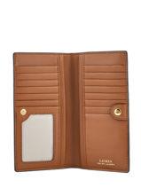 Wallet Anstey Leather Lauren ralph lauren Brown anstey 32787760-vue-porte