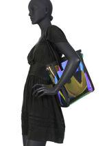 Shoulder Bag Piper Hexagona Black piper 796779-vue-porte