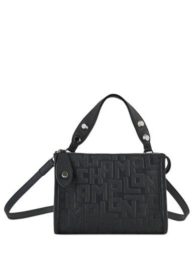 Longchamp La voyageuse lgp Sacs porté travers Noir