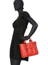 Longchamp Longchamp 3d Handbag Red-vue-porte