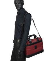 Longchamp Boxford Serviette Rouge-vue-porte