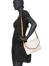 Crossbody Bag Authentic Tresse Torrow White authentic tresse TATT01-vue-porte