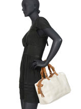 Handbag Authentic Tresse Torrow White authentic tresse TATT02-vue-porte