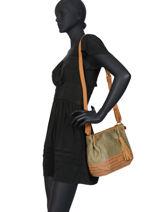 Shoulder Bag Ibiza Torrow Green ibiza TIBI05-vue-porte