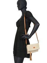 Raffia Crossbody Bag Majorca Torrow Multicolor majorque TMAJ04-vue-porte