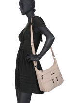 Shoulder Bag Classic Miniprix Beige classic Z83001-vue-porte