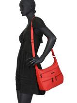 Shoulder Bag Classic Miniprix Red classic Z83001-vue-porte