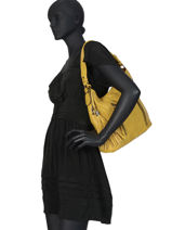 Shoulder Bag Georges Miniprix Yellow georges MD2072-vue-porte