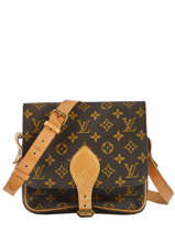 Preloved Louis Vuitton Crossbody Bag Cartouchière Monogram Brand connection Brown louis vuitton - 0000540A