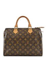 Preloved Louis Vuitton Handbag Speedy 30 Monogram Brand connection Brown louis vuitton 274