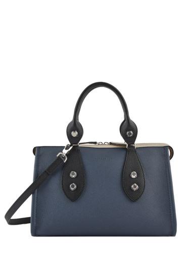 Longchamp La voyageuse tricolore Handbag Beige