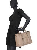 Longchamp Longchamp 3d Sacs porté main Beige-vue-porte