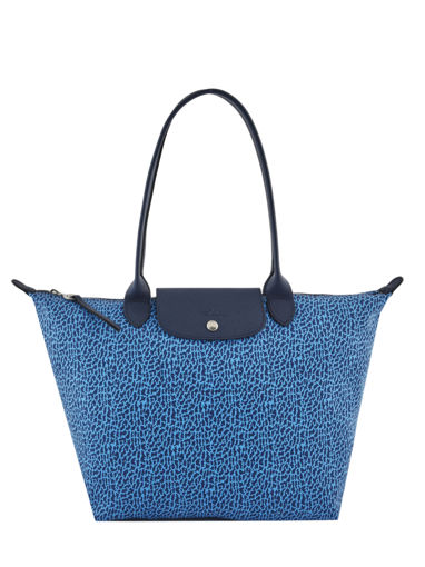 Longchamp Le pliage panthÈre Hobo bag Blue
