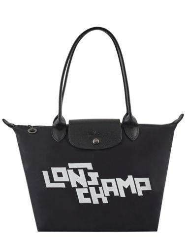 Longchamp Le pliage on the road Besaces Noir