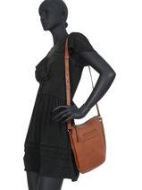 Longchamp Longchamp 3d Messenger bag Brown-vue-porte