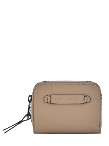 Longchamp Longchamp 3d Bill case / card case Beige