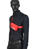 Belt Bag Fila Logo Fila Red 600d 685113-vue-porte