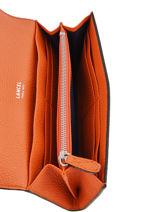 Portefeuille Slim Rabat Ninon Lancel Orange ninon A09986-vue-porte