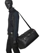 Carry-on Travel Bag Downtown Tommy hilfiger Black downtown AM05937-vue-porte