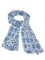 Cotton Scarf Cowo Blue cheche 00523