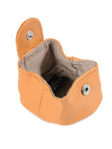 Purse Leather Nat et nin Orange vintage SWEETIE-vue-porte