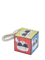 Porte-clefs K Kube Karl lagerfeld Noir accessoires 201W3810-vue-porte