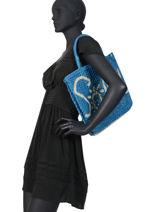 "Jute Shopping Bag ""soleil"" The jacksons Pink word bag S-SOLEIL-vue-porte"