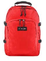 Sac à Dos Provider + Pc 15'' Authentic Eastpak Rouge authentic K520