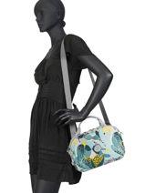 Beauty Case Souple Kipling Multicolore basic travel 13860-vue-porte