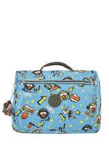 Satchel 1 Compartment Kipling Blue back to school 13571